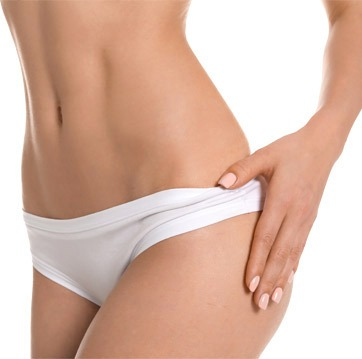 Belly and back plastic surgery